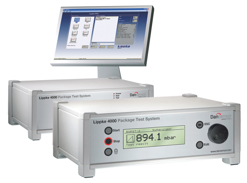 Lippke 4000/4500 Package Testing System