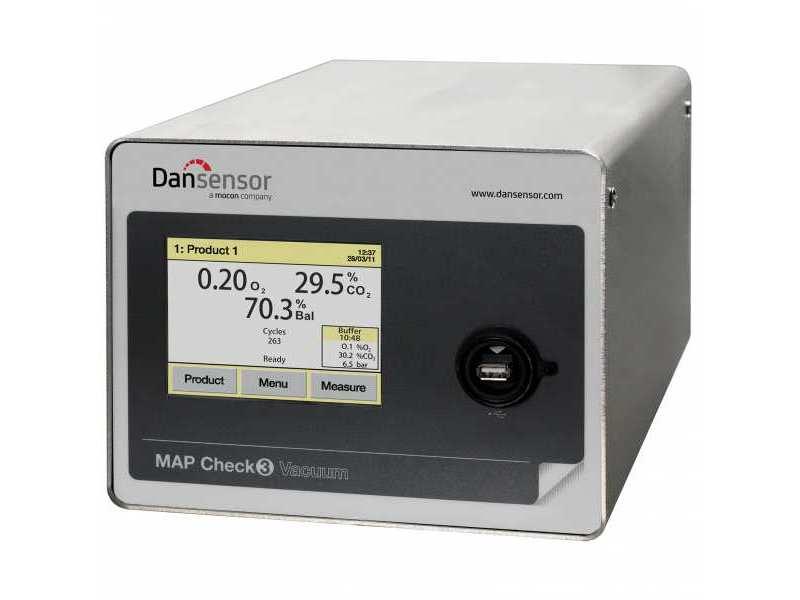 Dansensor MAP Check 3 Vacuum Online Headspace Gas Analyser