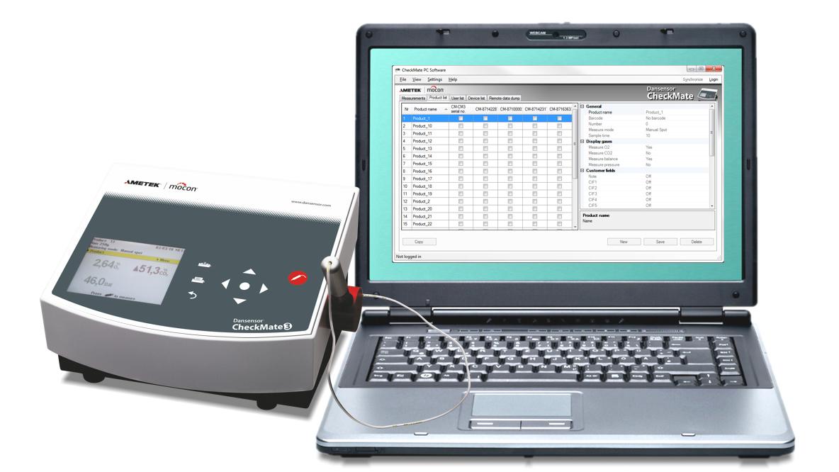 Dansensor CheckMate 3 PC Software