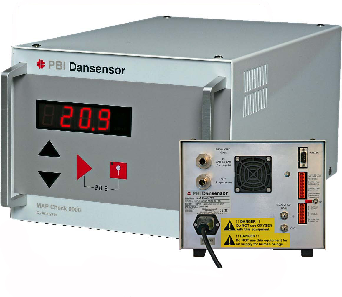 Dansensor MAP Check 9000 On-line Gas Analyser