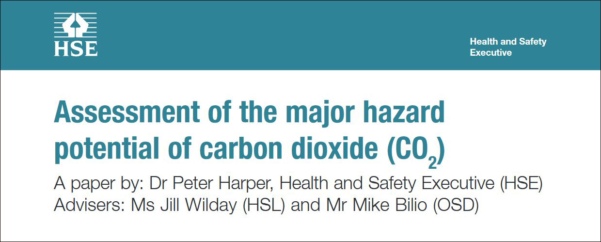 HSE Advice on Atmospheric CO2 Safety Limits
